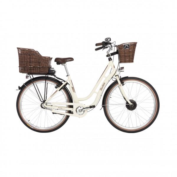 FISCHER ER 1804 Damen City E-Bike elfenbein MJ 2018 (B-Ware / Generalüberholt)