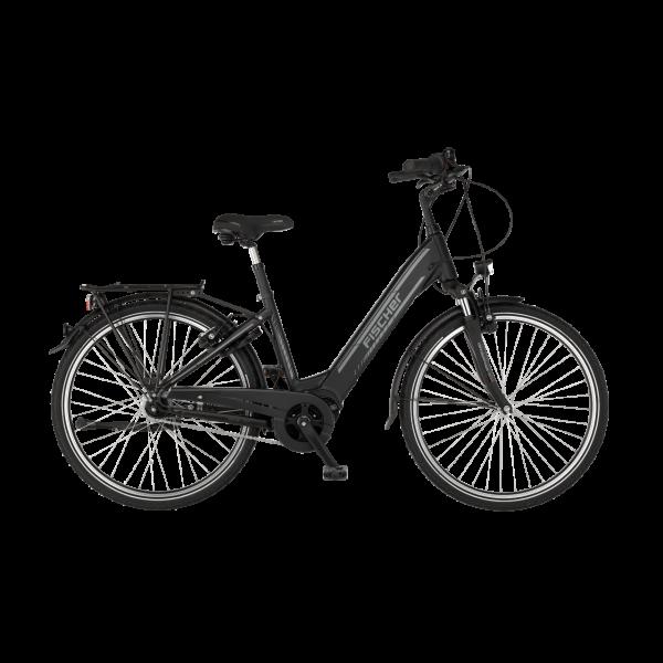 FISCHER City E-Bike CITA 4.1i - 418 Wh, 28 Zoll, RH 44 cm, Schwarz matt