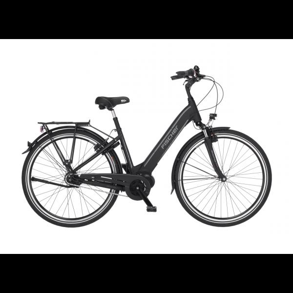 FISCHER City E-Bike CITA 3.1i - 504 Wh, 28 Zoll, RH 44 cm, Schwarz matt