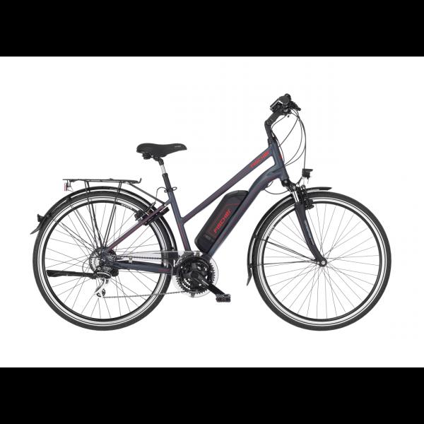 FISCHER Damen Trekking E-Bike ETD 1806 - 422 Wh, 28 Zoll, RH 44 cm