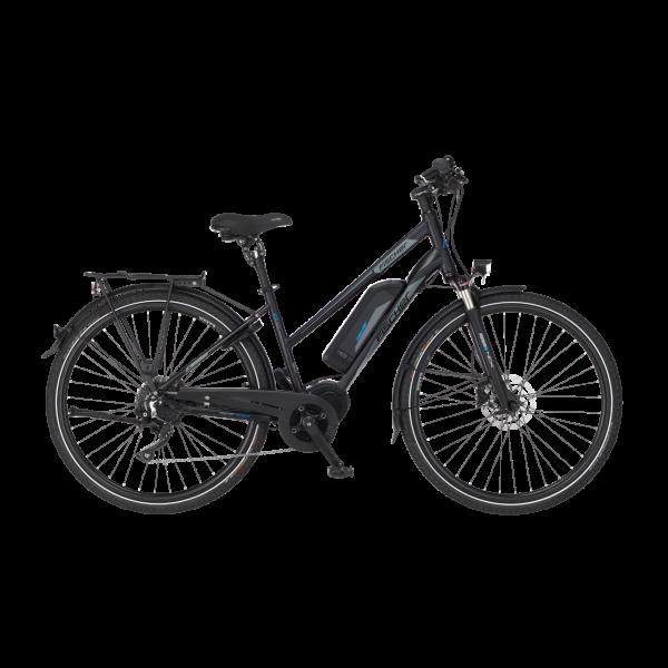 FISCHER Damen Trekking E-Bike ETD 1861.1 - 557 Wh, 28 Zoll, RH 49 cm