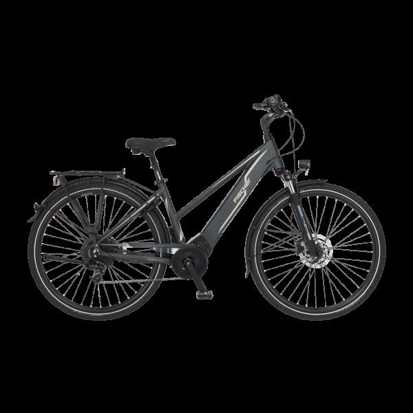 FISCHER Damen Trekking E-Bike VIATOR 5.0i - 418 Wh, 28 Zoll, RH 44 cm