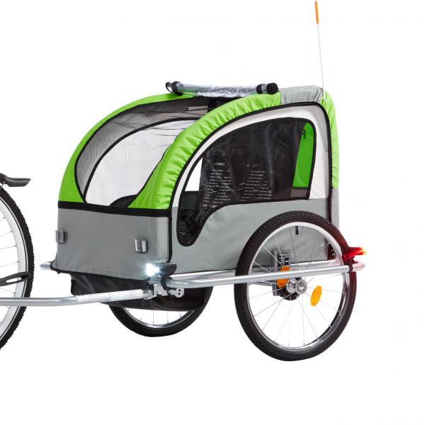 FISCHER Kinder-Fahrradanhänger Komfort