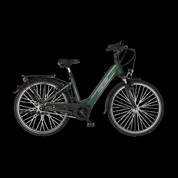 FISCHER City E-Bike CITA 4.1i - 418 Wh, 28 Zoll, RH 44 cm, Olivegrün matt