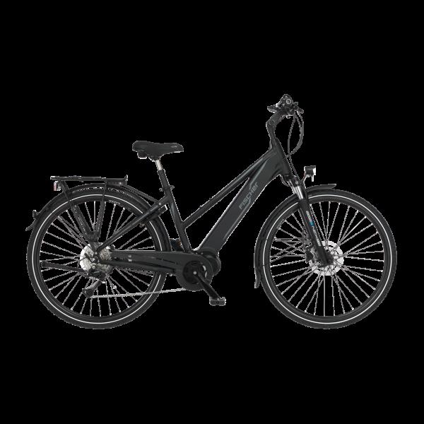 FISCHER Damen Trekking E-Bike VIATOR 4.0i - 418 Wh, 28 Zoll, RH 44 cm