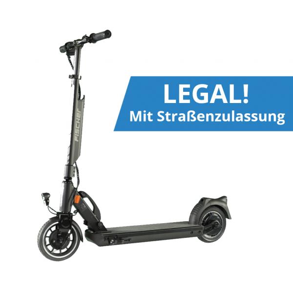 FISCHER E-Scooter IOCO 1.0 mit Straßenzulassung